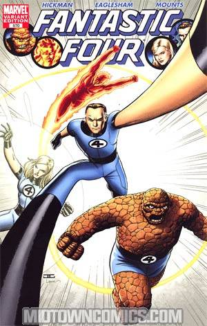Fantastic Four Vol 3 #570 Cover B Incentive John Cassaday Variant Cover