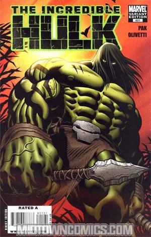 Incredible Hulk Vol 3 #601 Incentive Ed McGuinness Variant Cover