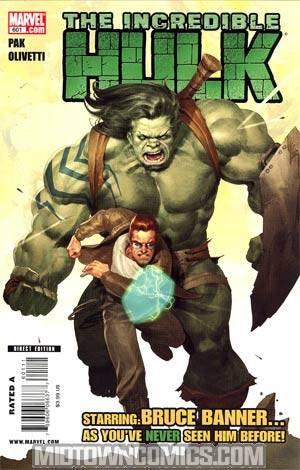 Incredible Hulk Vol 3 #601 Regular Ariel Olivetti Cover