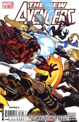 New Avengers #56 Cover A Regular Stuart Immonen Cover (Dark Reign Tie-In)