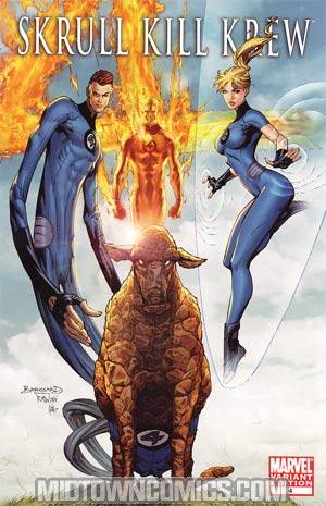 Skrull Kill Krew Vol 2 #4 Incentive Top Cow Variant Cover