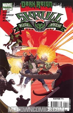 Skrull Kill Krew Vol 2 #4 Regular Mario Alberti Cover (Dark Reign Tie-In)