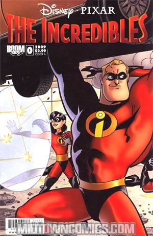 Disney Pixars Incredibles #0 Cover A