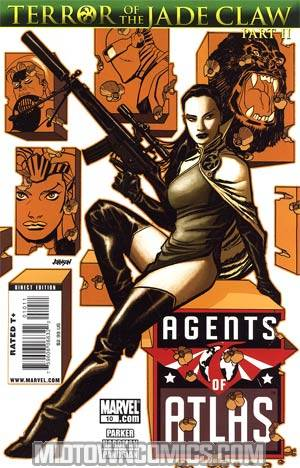 Agents Of Atlas Vol 2 #10