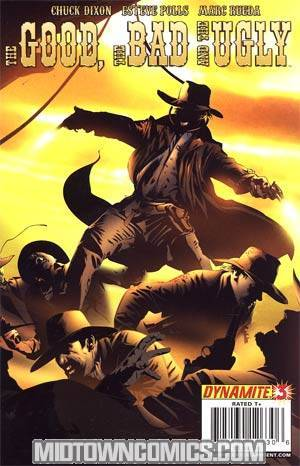 Good The Bad And The Ugly #3 Dennis Calero Cover