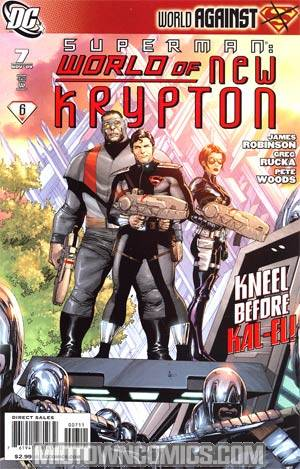 Superman World Of New Krypton #7 Regular Gary Frank Cover
