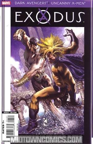 Dark Avengers Uncanny X-Men Exodus #1 Cover B Incentive Simone Bianchi Variant Cover (Utopia Part 6)