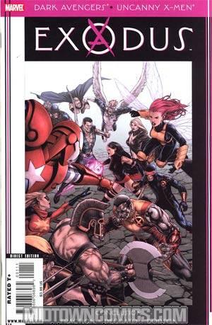 Dark Avengers Uncanny X-Men Exodus #1 Cover A 1st Ptg Regular Steve McNiven Cover (Utopia Part 6)