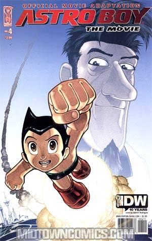 Astro Boy Movie Adaptation #4