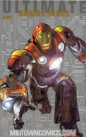 Ultimate Comics Armor Wars #1 Incentive Foilgram Variant Cover