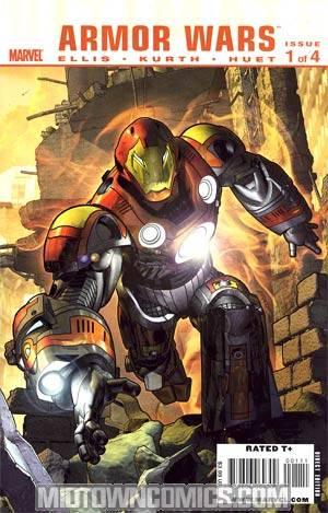 Ultimate Comics Armor Wars #1 Regular Brandon Peterson Cover