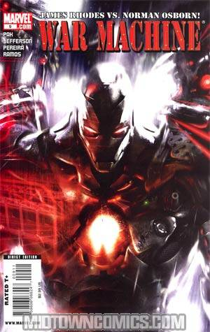 War Machine Vol 2 #9 Cover A Regular Francesco Mattina Cover