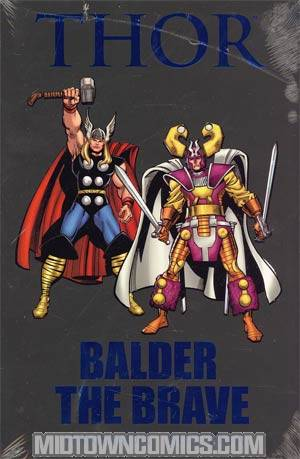 Thor Balder The Brave HC Premiere Edition Book Market Cover