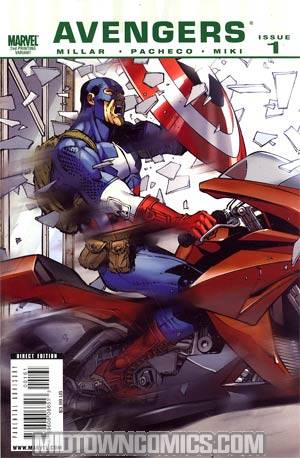 Ultimate Comics Avengers #1 2nd Ptg Variant Cover