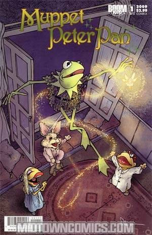 Muppet Peter Pan #1 Regular Cover A