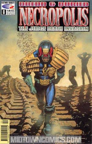 Judge Dredd Necropolis #8