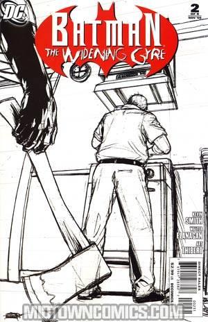 Batman Widening Gyre #2 Cover B Incentive Gene Ha Sketch Variant