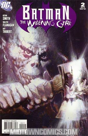 Batman Widening Gyre #2 Cover A Regular Bill Sienkiewicz Cover