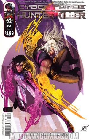 Cyberforce Hunter-Killer #2 Cover B Regular Stjepan Sejic Cover
