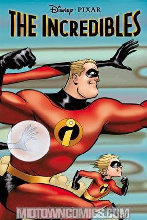 Disney Pixars Incredibles #1 Cover B
