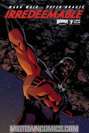 Irredeemable #7 Regular Cover B