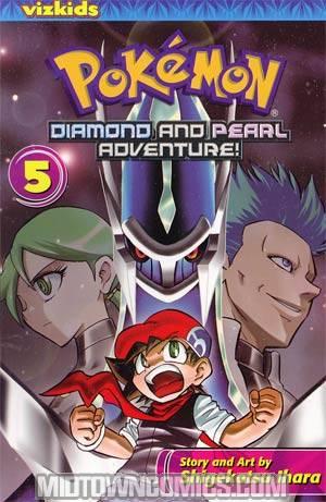 Pokemon Diamond And Pearl Adventure Vol 5 GN