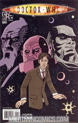 Doctor Who Vol 3 #4 Cover A Regular Paul Grist Cover