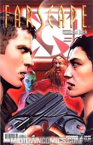 Farscape Gone & Back #4 Regular Cover A
