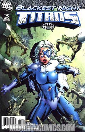 Blackest Night Titans #3 Cover A Regular Ed Benes Cover
