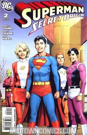Superman Secret Origin #2 Regular Gary Frank Cover