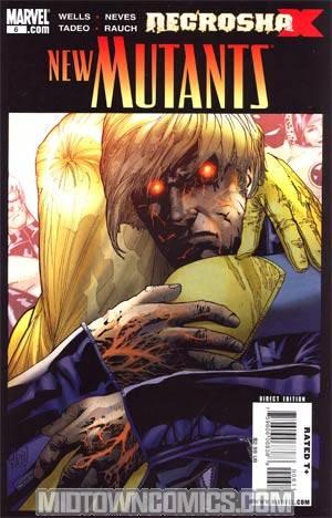 New Mutants Vol 3 #6 1st Ptg Regular Adam Kubert Cover (X Necrosha Tie-In)