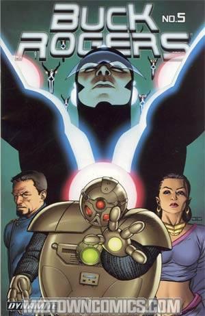 Buck Rogers Vol 4 #5 John Cassaday Cover