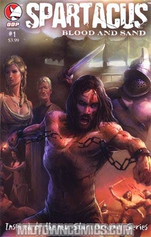 Spartacus Blood And Sand #1 Cover A