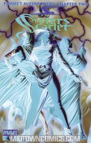 Project Superpowers Chapter 2 #4 Cover D Incentive Alex Ross Negative Art Cover