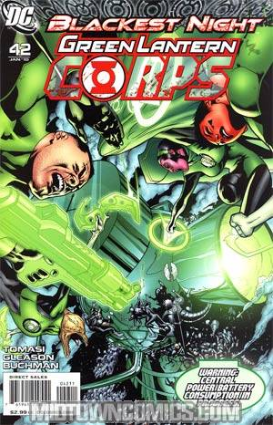 Green Lantern Corps Vol 2 #42 Cover A Regular Patrick Gleason Cover (Blackest Night Tie-In)