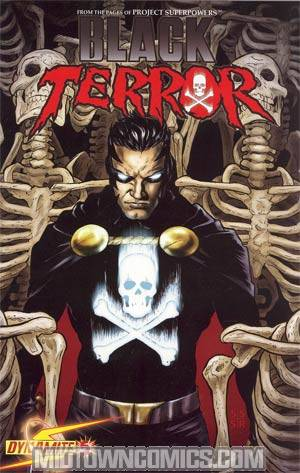 Black Terror Vol 3 #5 Regular Stephen Sadowski Cover