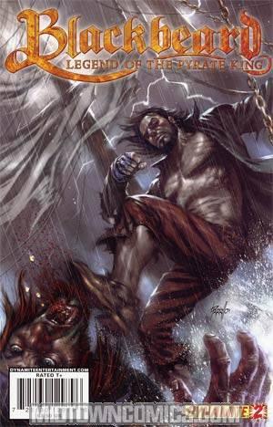 Blackbeard Legend Of The Pyrate King #2 Regular Lucio Parrillo Cover