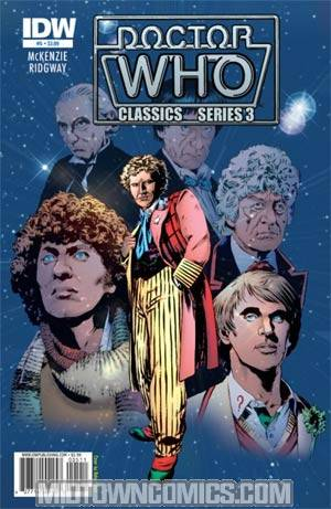 Doctor Who Vol 3 #5 Cover B Regular Matthew Dow Smith Cover