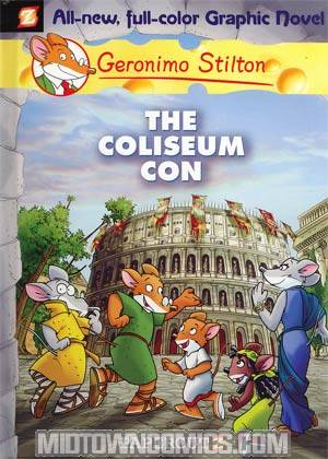 Geronimo Stilton Vol 3 Coliseum Con HC