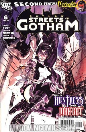 Batman Streets Of Gotham #6