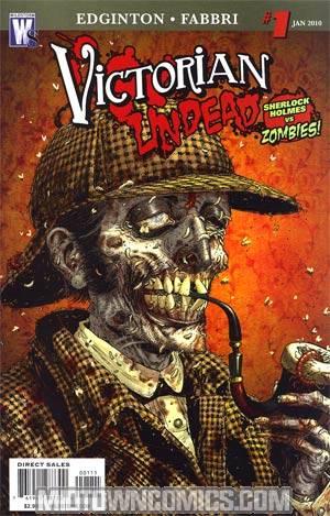 Victorian Undead #1 Regular Tony Moore Cover
