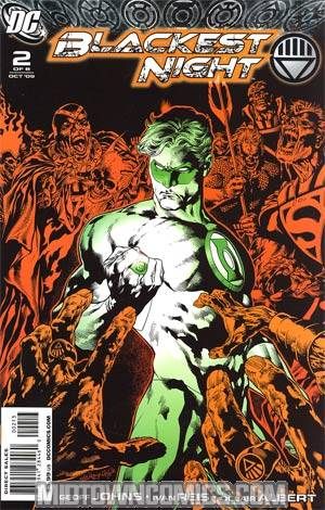 Blackest Night #2 Cover E 3rd Ptg