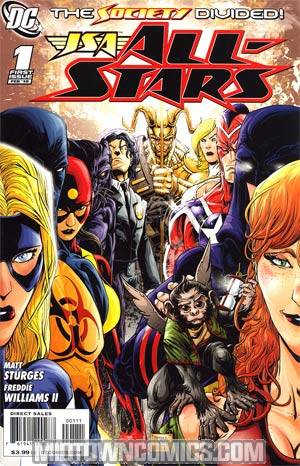 JSA All Stars Vol 2 #1 Regular Freddie Williams II Cover