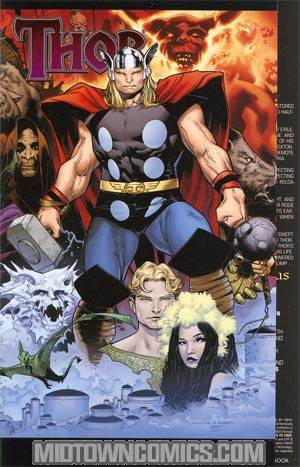 Thor Vol 3 #604 Cover B  Incentive Olivier Coipel Gatefold Variant Cover