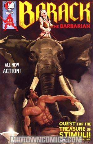 Barack The Barbarian Quest For The Treasure Of Stimuli #3