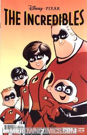 Disney Pixars Incredibles #3 Cover A