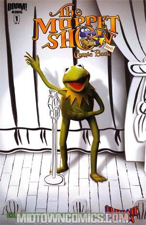 Muppet Show #1 Ultimate Comics Exclusive Photo Variant Cover