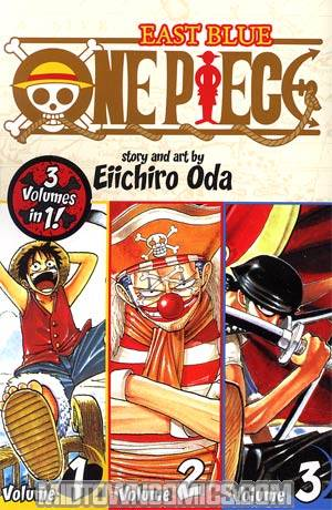 One Piece East Blue 1-2-3 TP
