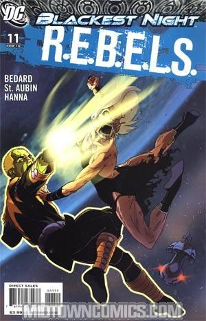 REBELS #11 (Blackest Night Tie-In)