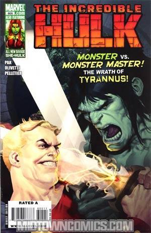 Incredible Hulk Vol 3 #605 Regular Ariel Olivetti Cover